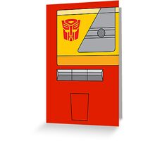 Blaster - Transformers 80s Greeting Card