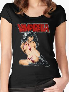 Vampirella vintage Women's Fitted Scoop T-Shirt