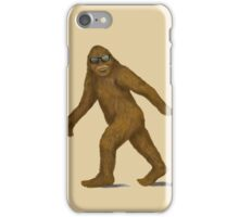 Bigfoot in Shades iPhone Case/Skin