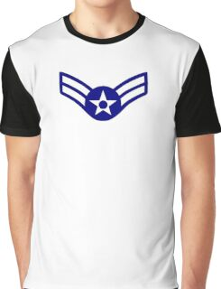 AIR FORCE, AIRMAN, FIRST CLASS, USA, US, America, American Graphic T-Shirt