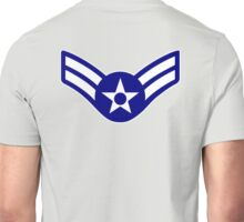 AIRMAN, FIRST CLASS, USA, US, America, American Unisex T-Shirt