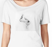 women kissing,mouth and tongue passion Women's Relaxed Fit T-Shirt