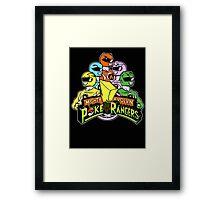 Poke Rangers Framed Print