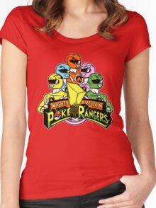 Poke Rangers Women's Fitted Scoop T-Shirt