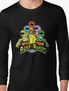 Poke Rangers Long Sleeve T-Shirt