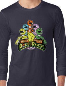 Poke Rangers Long Sleeve T-Shirt