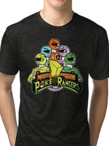 Poke Rangers Tri-blend T-Shirt