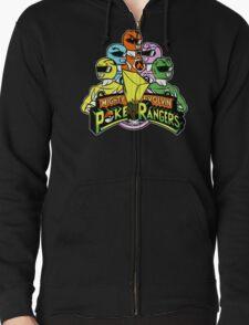 Poke Rangers Zipped Hoodie