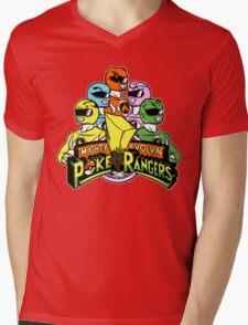 Poke Rangers Mens V-Neck T-Shirt