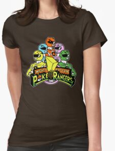 Poke Rangers Womens Fitted T-Shirt