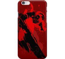 Grunge Swordsman iPhone Case/Skin