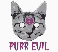 Purr Evil by robotface