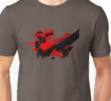 Grunge Swordsman Unisex T-Shirt