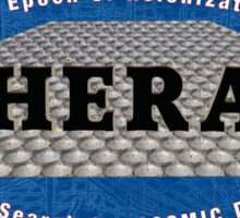 HERA - Hydrogen Epoch of Reionization Array Logo Sticker