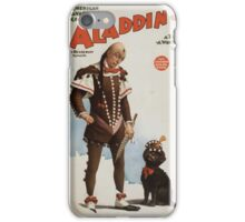 Performing Arts Posters Aladdin Jr a tale of a wonderful lamp 0694 iPhone Case/Skin