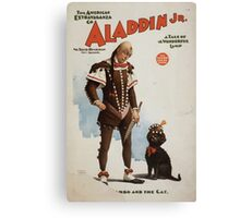 Performing Arts Posters Aladdin Jr a tale of a wonderful lamp 0694 Canvas Print