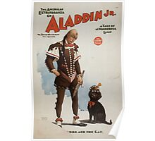 Performing Arts Posters Aladdin Jr a tale of a wonderful lamp 0694 Poster