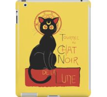 Chat Noir de la Lune iPad Case/Skin