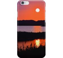Sunset Over The Wetlands iPhone Case/Skin