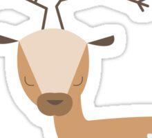 Deer with Birds Sticker