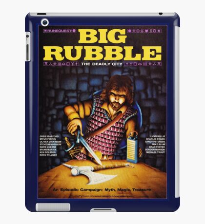 Big Rubble cover iPad Case/Skin