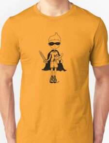 Boy with sword (outline) T-Shirt