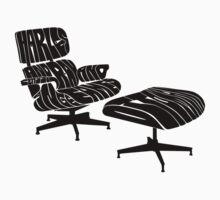 Black Eames. Kids Tee