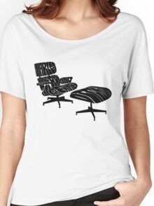 Black Eames. Women's Relaxed Fit T-Shirt