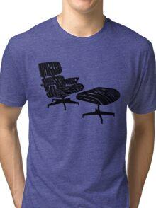 Black Eames. Tri-blend T-Shirt