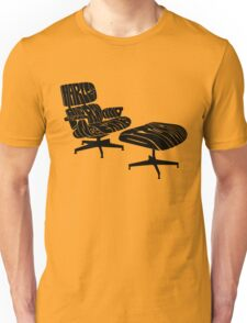 Black Eames. Unisex T-Shirt