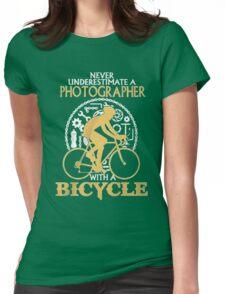 Photographer -T-Shirt Womens Fitted T-Shirt
