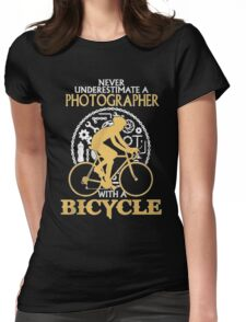 Photographer -T-Shirt Womens Fitted T-Shirt