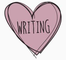 Writing, writer Kids Tee