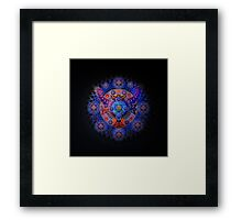 Low Frequency Star Framed Print