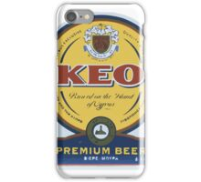 KEO Beer [Logo] iPhone Case/Skin