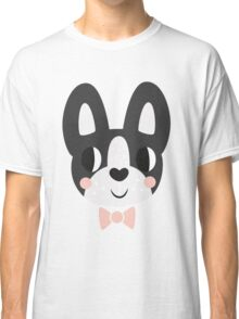Boston Terrier With A Bow Tie Classic T-Shirt
