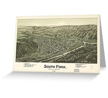 South Fork, Cambria County, Pennsylvania (1900) Greeting Card