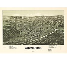 South Fork, Cambria County, Pennsylvania (1900) Photographic Print