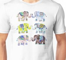 Elephant Collection – Cool Palette Unisex T-Shirt