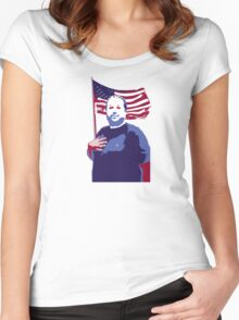 The Hugh-Mungus American Women's Fitted Scoop T-Shirt