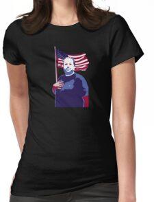 The Hugh-Mungus American Womens Fitted T-Shirt