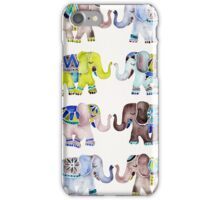 Elephant Collection – Cool Palette iPhone Case/Skin
