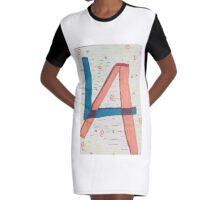 L.A.  Graphic T-Shirt Dress