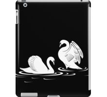 Swans In Love iPad Case / iPhone 5 Case / T-Shirt / Samsung Galaxy Case / Tote Bag / Pillow  iPad Case/Skin
