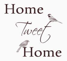 Home Tweet Home Birds One Piece - Long Sleeve