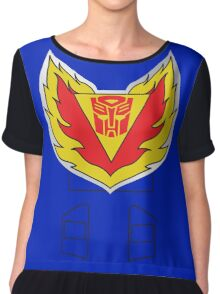 Tracks - Transformers 80s Chiffon Top