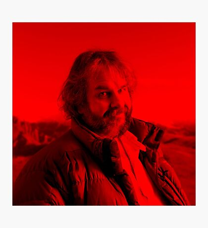 Peter Jackson - Celebrity (Square) Photographic Print