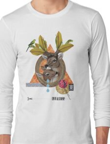 Animal Collection -- Oh Deer Long Sleeve T-Shirt