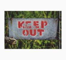 keeP OuT One Piece - Short Sleeve