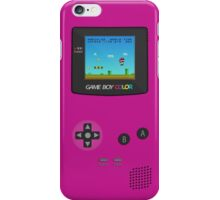 Nintendo Game Boy Super Mario Girly iPhone Case/Skin